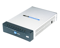 Router Cisco RV042 doble internet